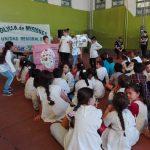 La Policía culminó con los agasajos por el mes del niño festejando con los más chicos en San Martín