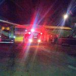 Incendio dejo daños materiales en un secadero de Yerba mate
