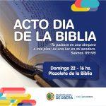 Acto por el Día de la Biblia