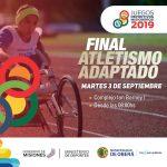 Juegos Deportivos: Finales de atletismo adaptado