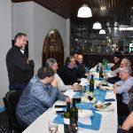El plantel del OTC compartió una cena con los principales soponsors