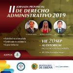 II Jornada Provincial de Derecho Administrativo