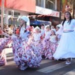 Operativo de tránsito desfile inaugural Fiesta Nacional del Inmigrante