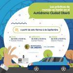 Examen práctico para la obtención de licencia de conducir