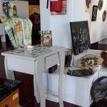 Exposición artística en la casa de la Cultura