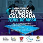 Hoy comienza el 1er Gran Prix Nacional Tierra Colorada de Tenis de Mesa