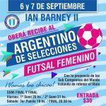 El Argentino de Selecciones Femenino se traslada a Oberá