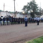 La Policía brindó la cobertura de seguridad en la final de la Liga Obereña de Fútbol