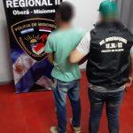 Fue sorprendido cuando intentaba robarse la motocicleta de un policía, ahora está detenido