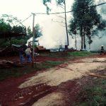 Gracias al rápido accionar de la Policía y de Bomberos, se evitó que se incendiara un aserradero