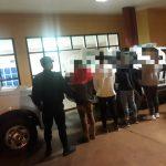 La Policía detuvo a un joven y demoró a tres adolescentes que intentaron robar a un grupo de personas