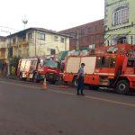 Bomberos sofocaron incendio en un local comercial