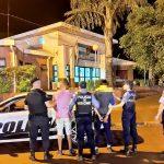 Detenidos y motocicletas retenidas en el marco del Operativo de Nocturnidad