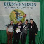 Obereño logró el subcampeonato en la Olimpiada Matemática Argentina
