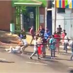 Una vecina fue agredida por manifestantes que acampan frente a la Municipalidad de Oberá