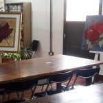 Se expone «Fiore-Profumi dell'anima» en la Biblioteca Popular Sarmiento