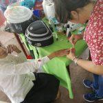 Adultos del hogar de ancianos recibieron atenciones