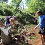 Limpieza en arroyo Tuichá