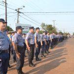 MEGAOPERATIVO EN OBERÁ: con 400 efectivos policiales continuamos reforzando la seguridad
