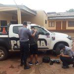La policía recuperó elementos robados y demoró al presunto autor del hecho