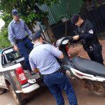 Tres motocicletas y un vehículo retenidos en los Operativos Policiales