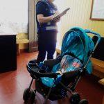 La Policía recuperó un coche de bebé sustraído en el barrio 100 Hectáreas