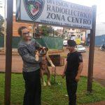Policías encontraron a «PACHO» y lo devolvieron a su dueño