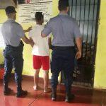 Fue a sufragar y tenía pedido de detención, ahora está preso