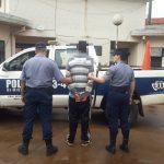 Intentó robar a punta de cuchillo en un local comercial y fue detenido por la Policía