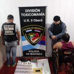 Narcomenudeo: Tras allanamiento, la Policía incautó marihuana y detuvo a una pareja en Oberá
