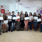 Finalizó el curso de Portugués Básico en el Punto Digital Oberá