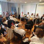 1° Reunión Organizativa la Confederación Argentina de Colectividades