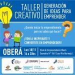 Taller «Generación de ideas para emprender»