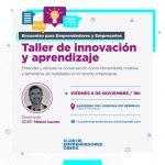 Taller gratuito de innovación y aprendizaje