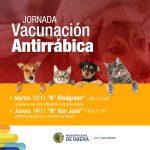 Jornada de Vacunación Antirrábica