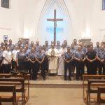 Efectivos de la Unidad Regional II Oberá, participaron de una Misa de Acción de Gracias