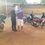 La Policía recuperó una motocicleta RX de 150 c.c. robada en Mendoza