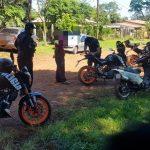 Prevención: 7 motocicletas retenidas en operativos policiales
