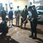 Cobraban «peaje» y fueron detenidos