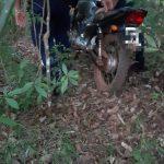 La Policía recuperó una motocicleta robada y busca al autor del hecho