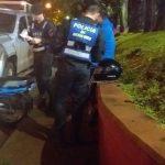 Operativo Nocturnidad: tres menores demorados y una motocicleta retenida