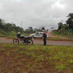 Despiste de una motocicleta dejó como saldo una mujer lesionada