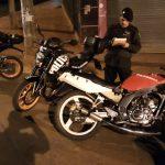 Una licencia y siete motocicletas retenidas  por infracción al tránsito