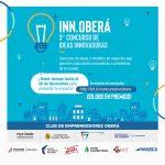Continúan abiertas las inscripciones para el 3er Concurso de Ideas Innovadoras «Inn-Oberá»