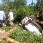 Siniestro vial en Ruta 103 dejó como saldo un hombre lesionado
