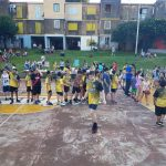 La escuela municipal de básquet cerró el año