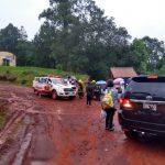 La Policía asistió y evacuó a docentes y alumnos que quedaron varados en un camping