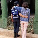 Prevención de Delitos asistió a una mujer desorientada