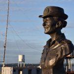 Integrantes de la Facultad de Arte y Diseño realizaron esculturas para el puerto Eliana Krawczyk