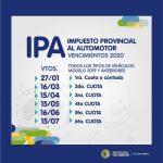 Descuentos especiales al abonar el IPA